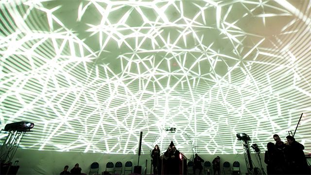 AV Dome: Proiettare all interno di una sfera gonfiabile